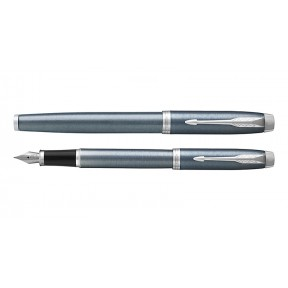 Parker IM light blue grey ct vulpen