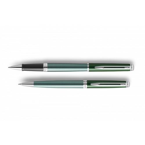 Waterman Hemisphere French Green roller balpen