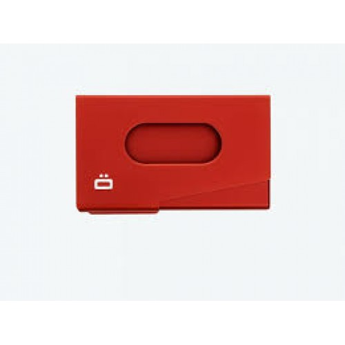 Ögon Red business cardholder