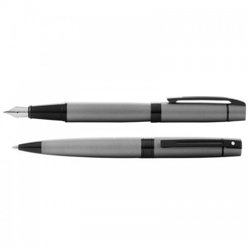 Sheaffer 300 Grey vulpen balpen