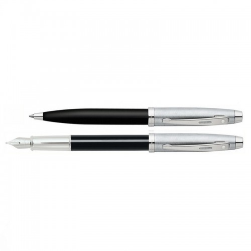 Sheaffer 100 Black Chrome vulpen balpen
